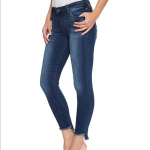 EUC Kut Connie ankle skinny jeans